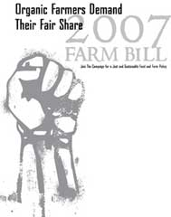 Organics Demand Share of Farm Bill